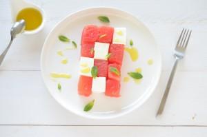 Lunchtip meloen & feta