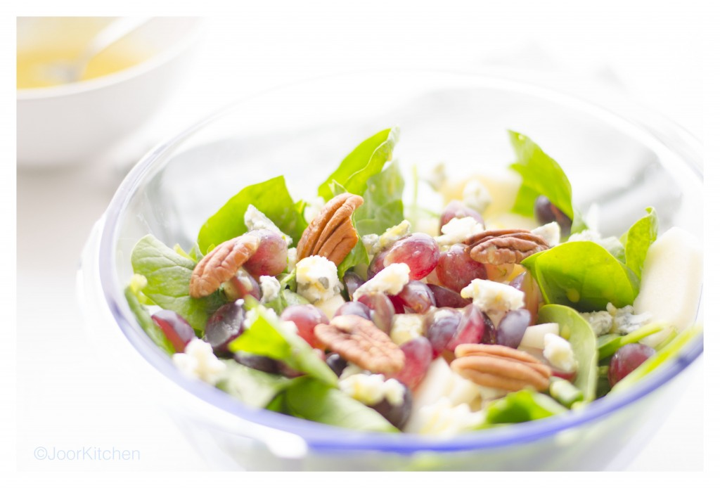 Salade blauwe kaas