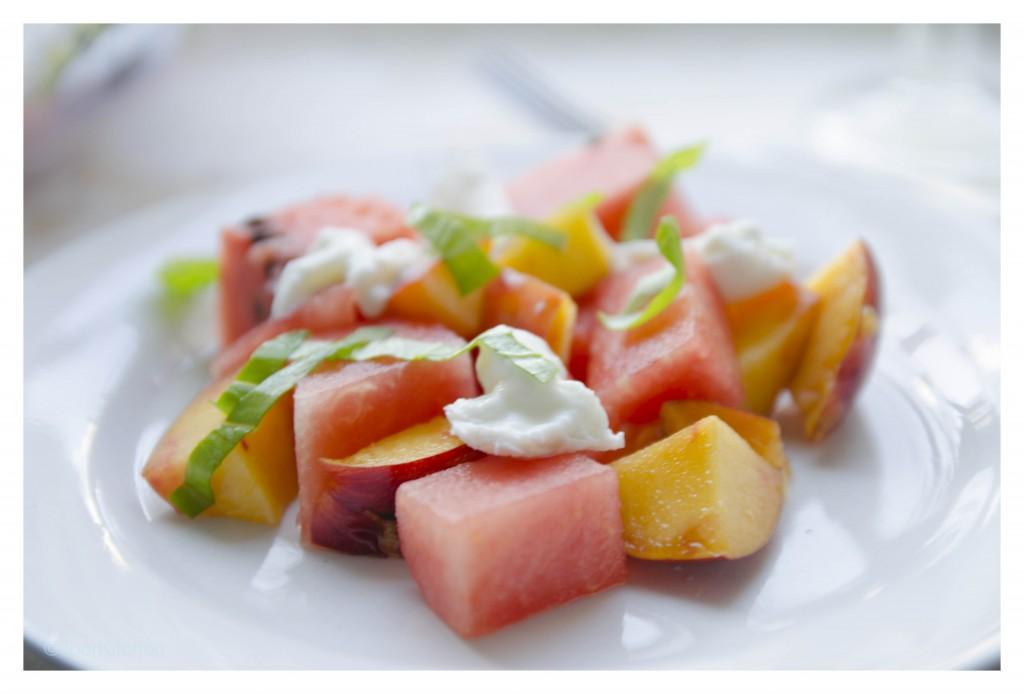 watermeloen-nectarinesalade