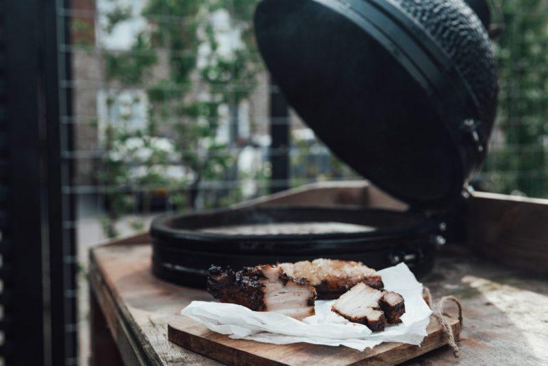 buikspek van de BBQ